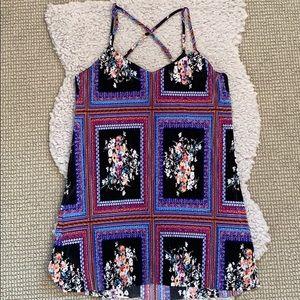 Socialite - Framed Floral Ribbed Dress 🌸